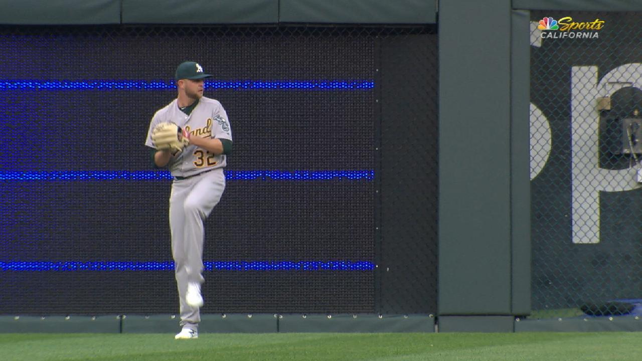 Hahn makes fine case to stay in A's rotation