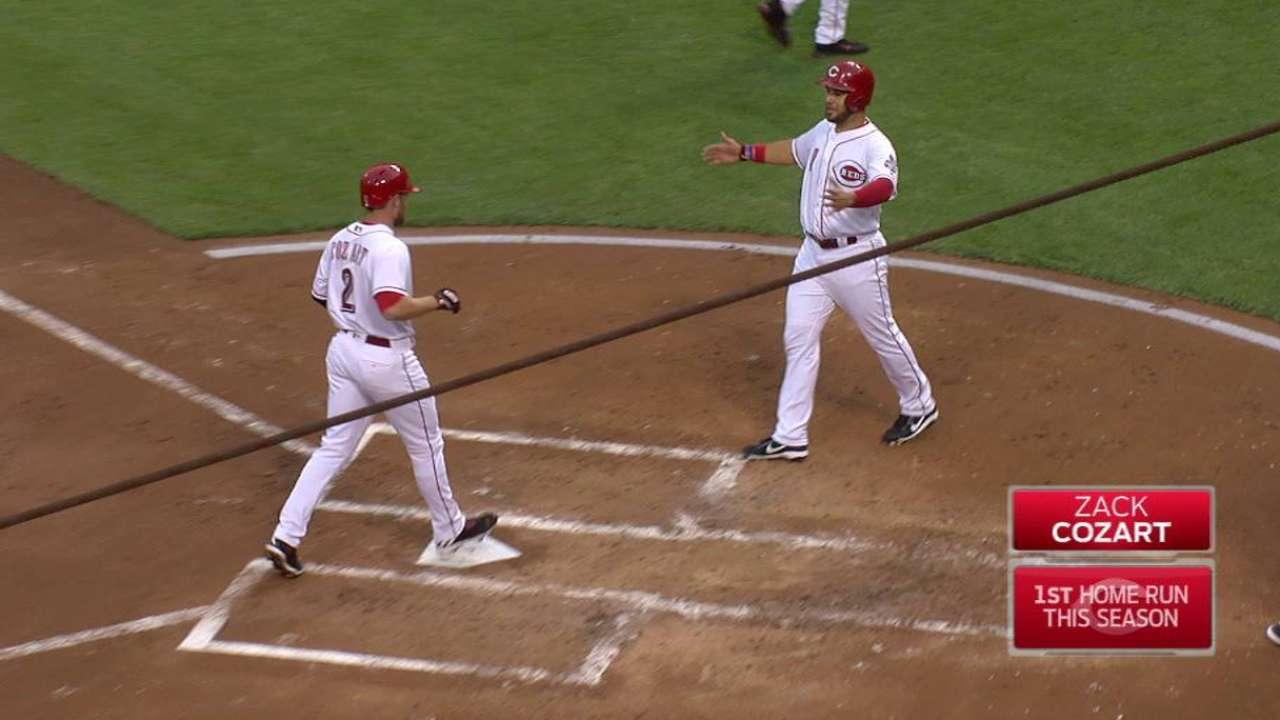 Cozart's two-run home run