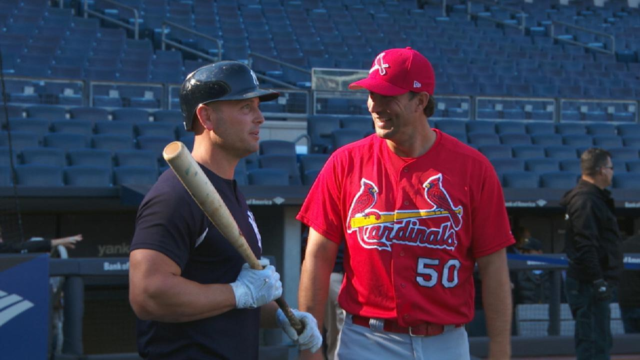 Cardinals oppose former teammate Holliday