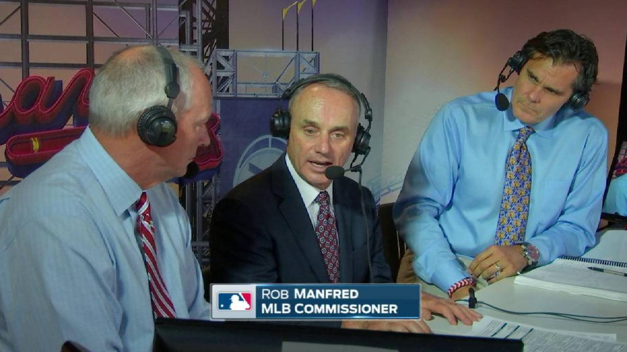 Manfred on new ballpark