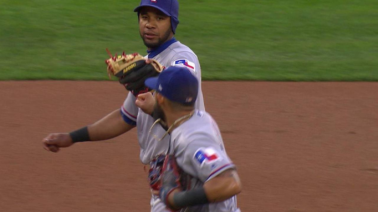 Perez induces double play