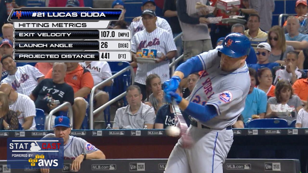 Statcast: Duda's 441-foot homer