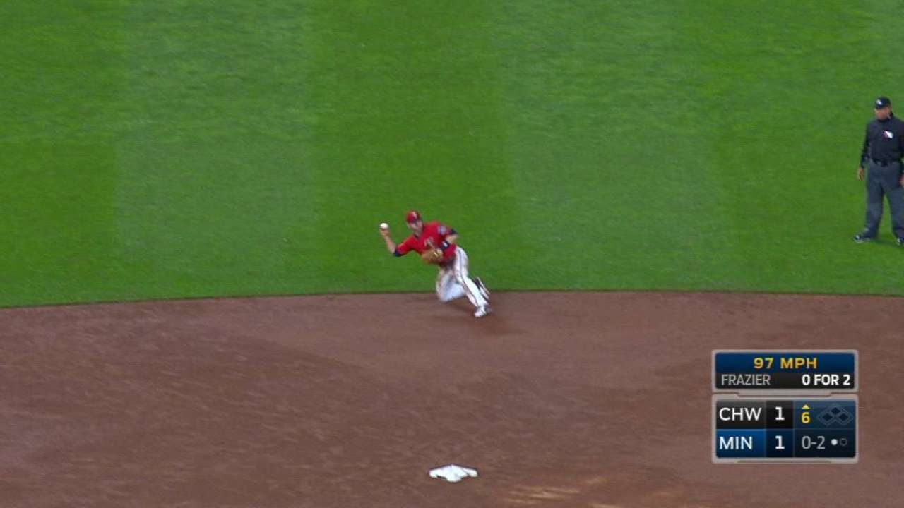 Dozier's fine diving stop