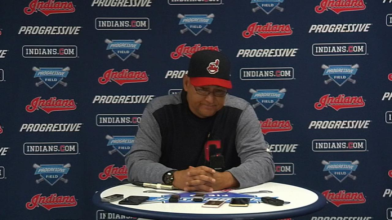 Tito: Giving Brantley days off 'common sense'