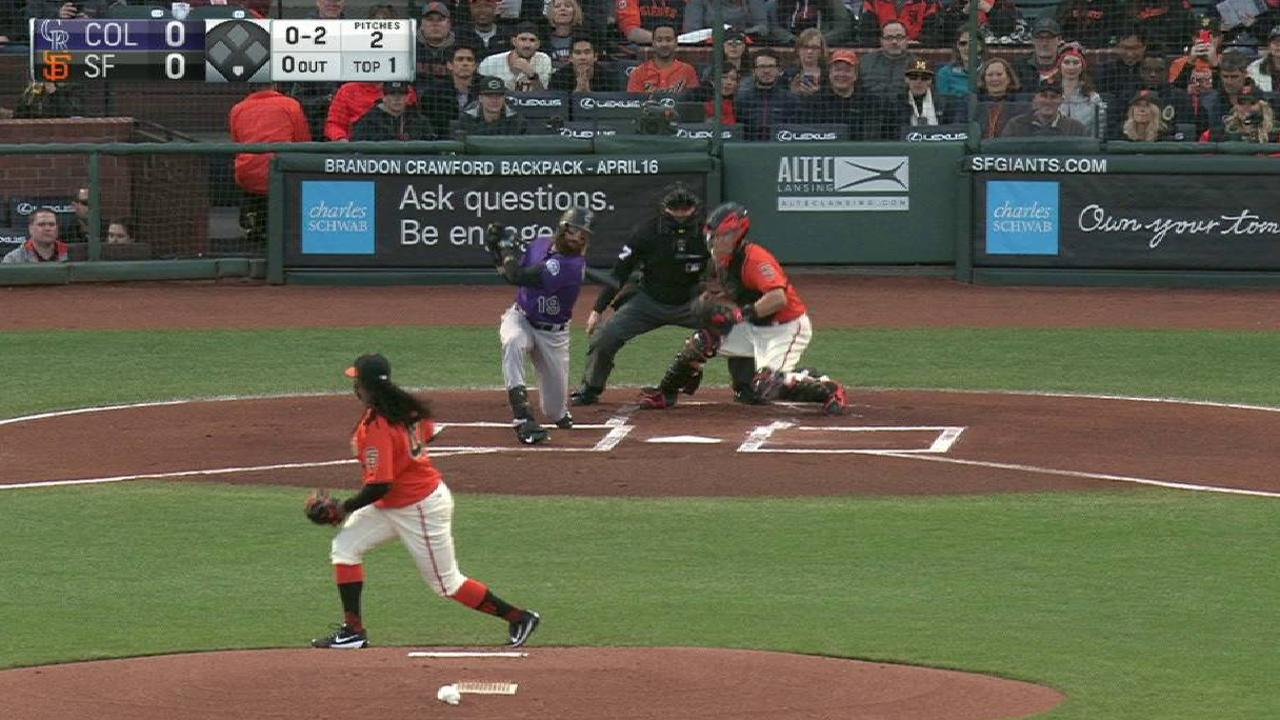 Cueto seeks to upend Rockies