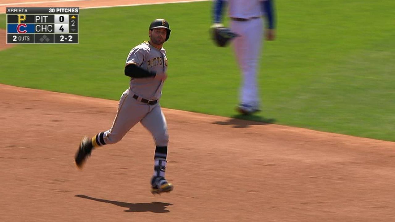 Cervelli's solo home run
