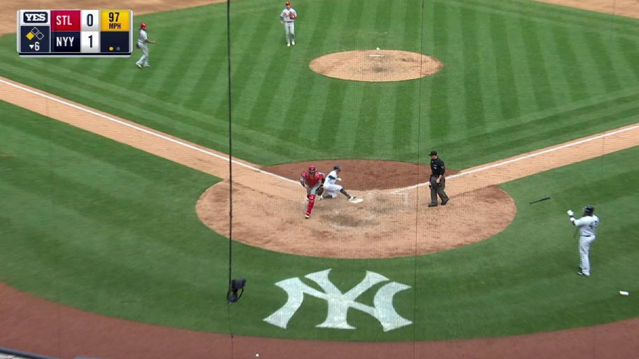 Yankees superan a Cardenales y logran su sexto triunfo al hilo