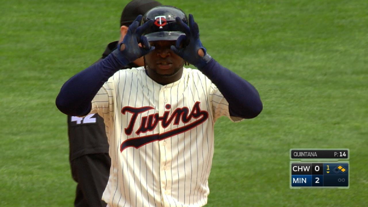 Twins' five-run 1st inning
