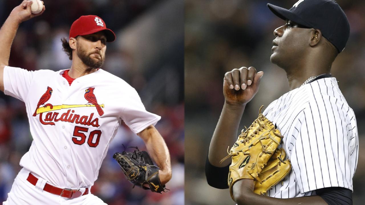 Wainwright vs. Pineda