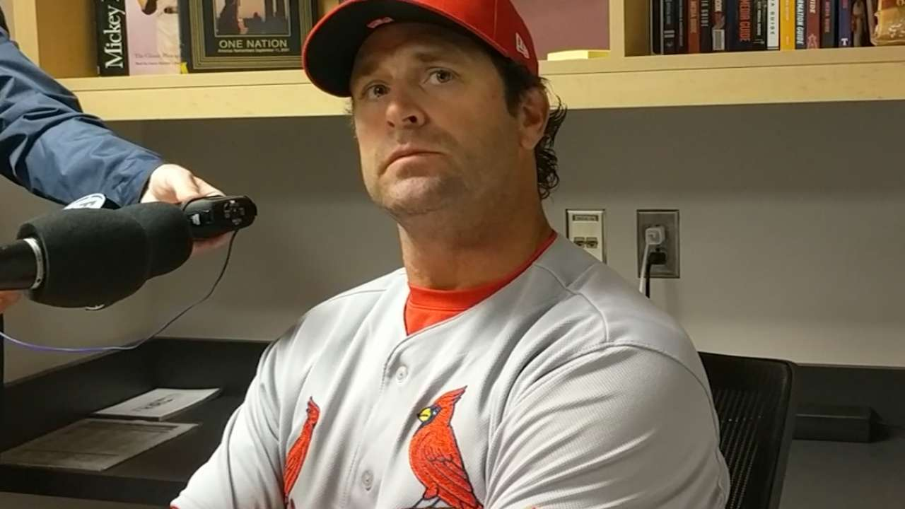 Matheny on Cards' ugly start