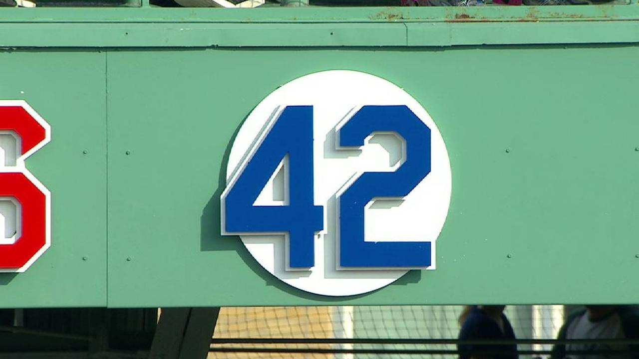Educated on legacy, Rays, Sox honor Jackie