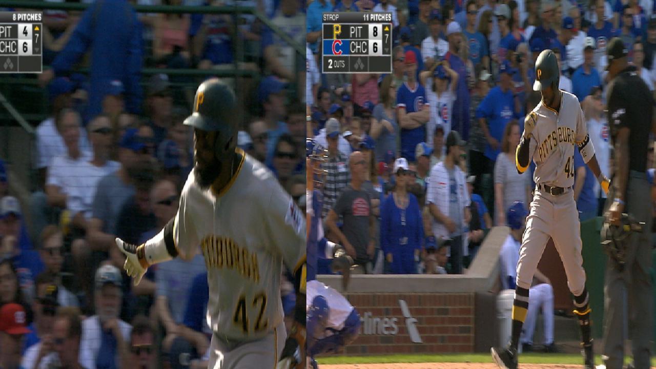 Pirates' big 7th inning