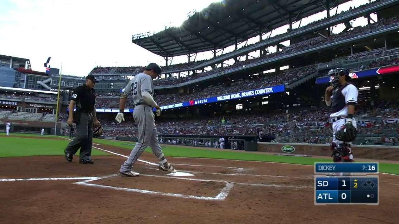Renfroe's solo home run
