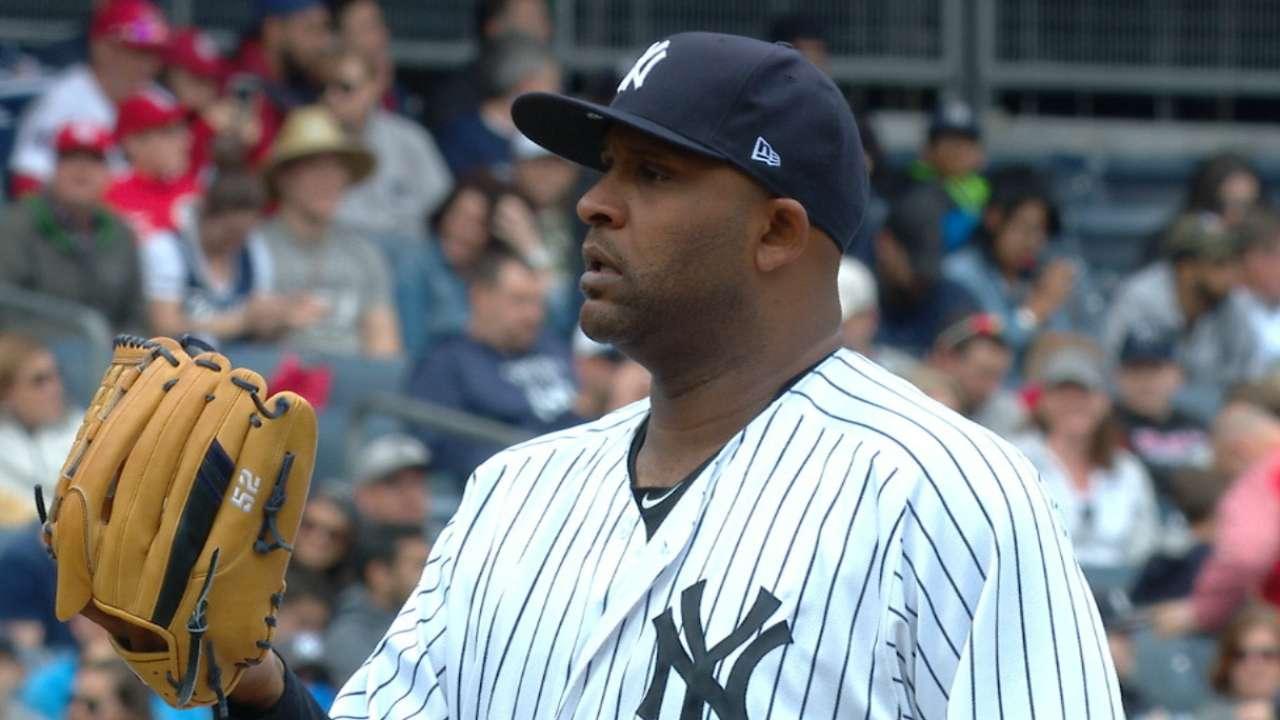 CC, Yankees ride momentum into Pittsburgh