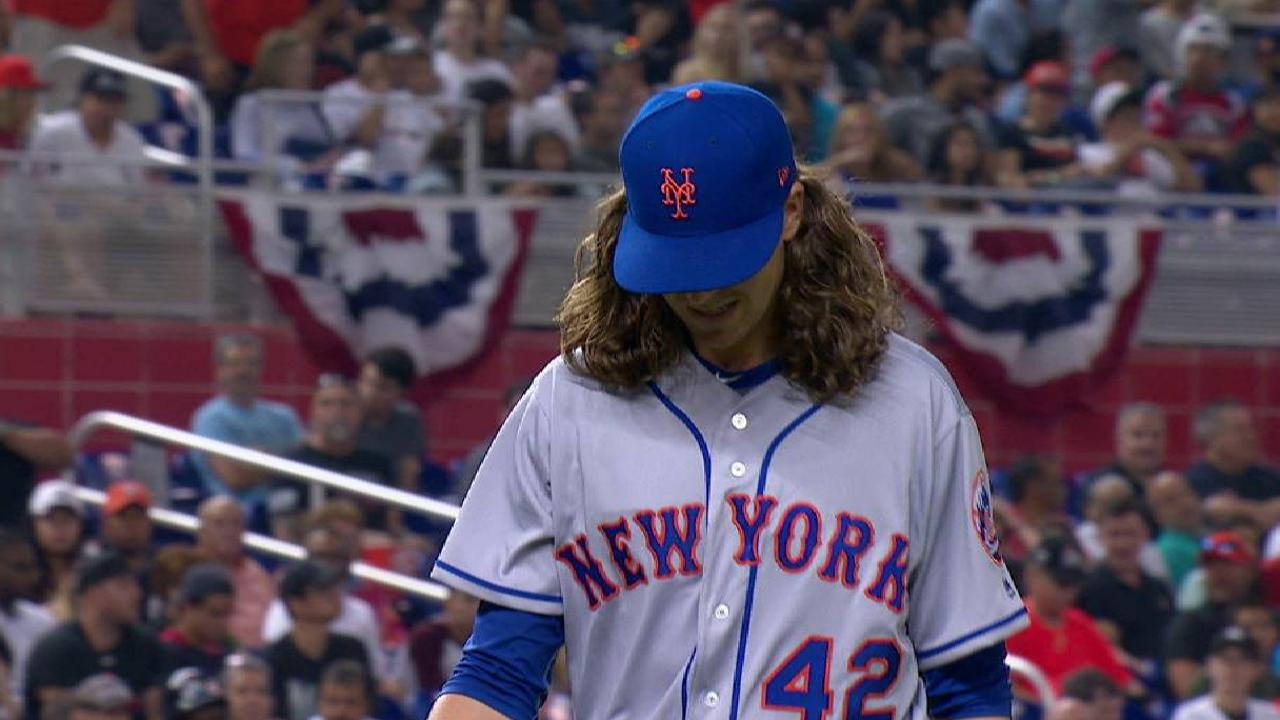 Collins opts to play it safe with deGrom