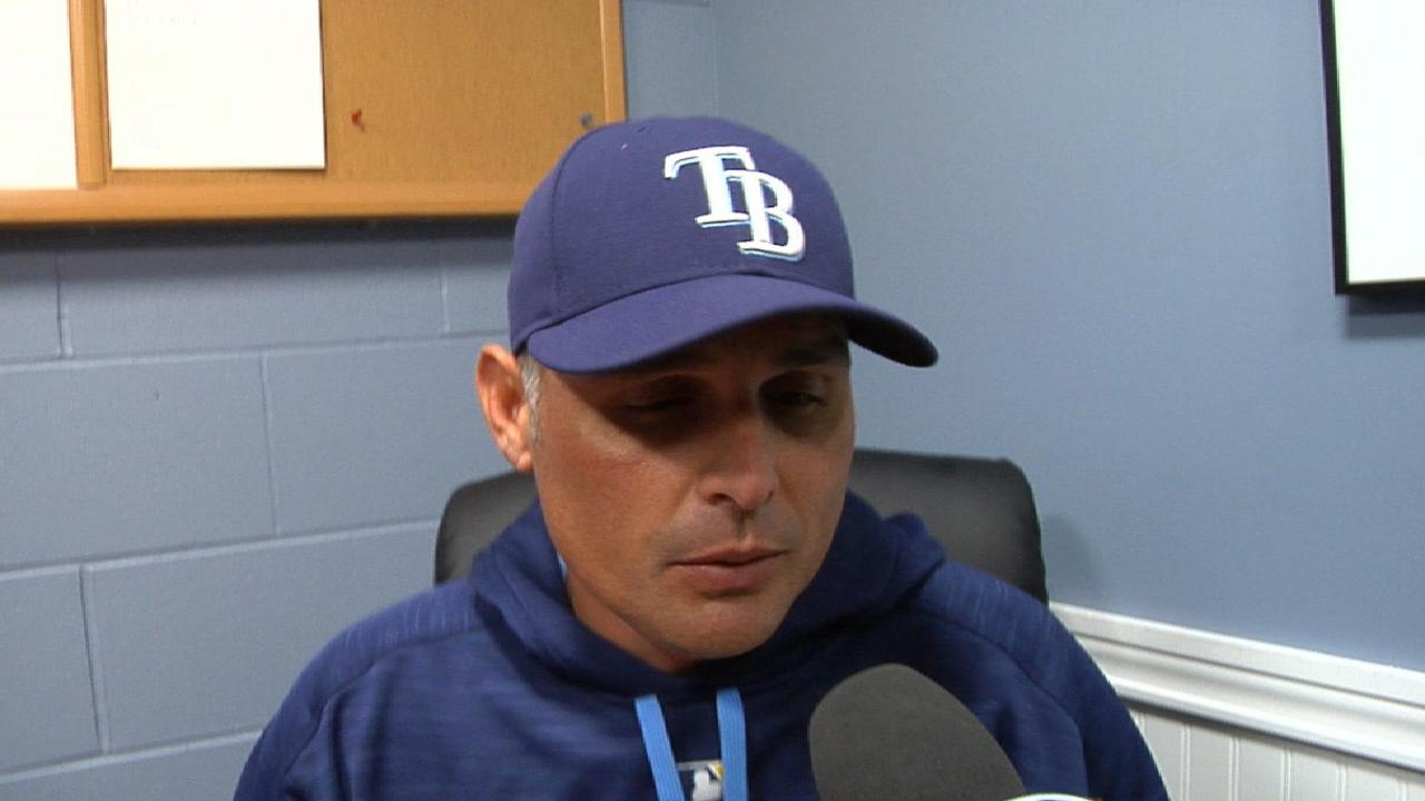 Cash on the loss to Red Sox