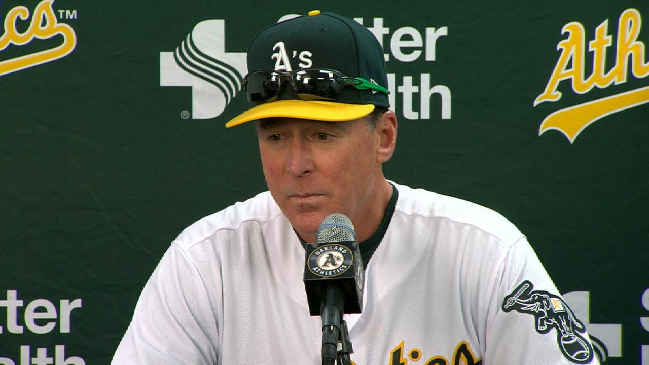 Doolittle hopes A's can learn from tough loss