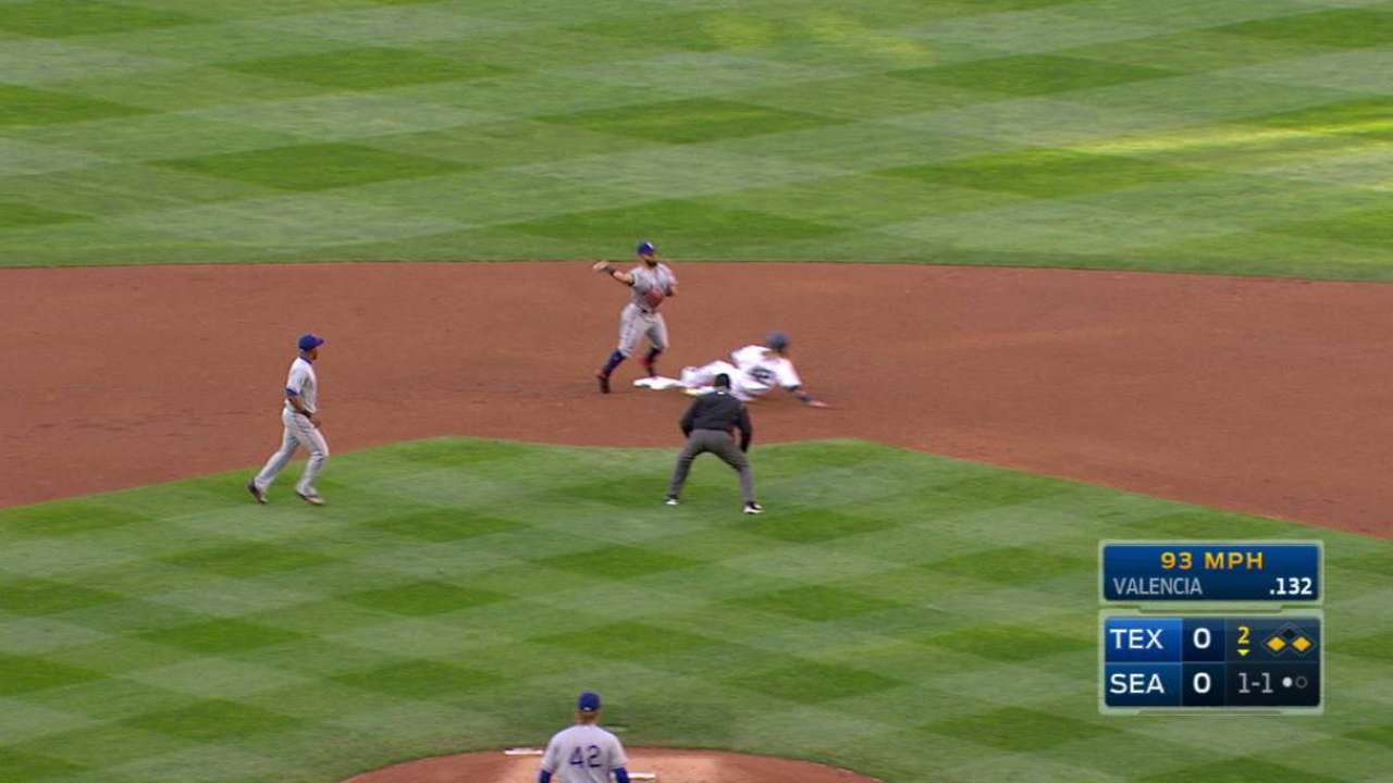 Cashner induces double play