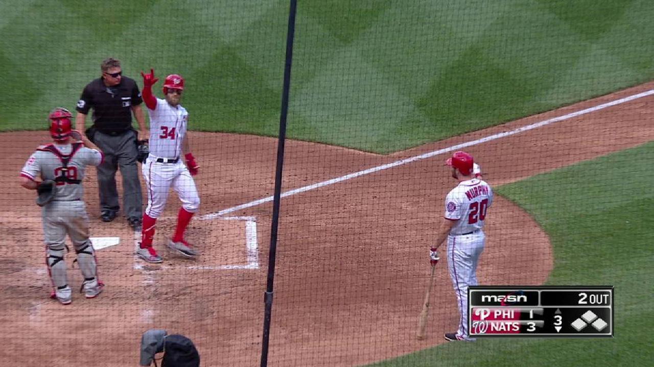 Harper's two-run homer