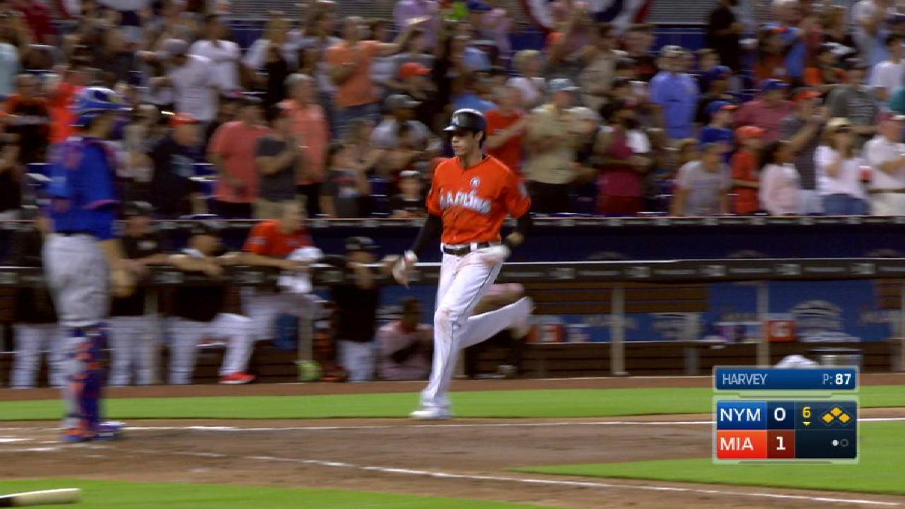 Ozuna's RBI double