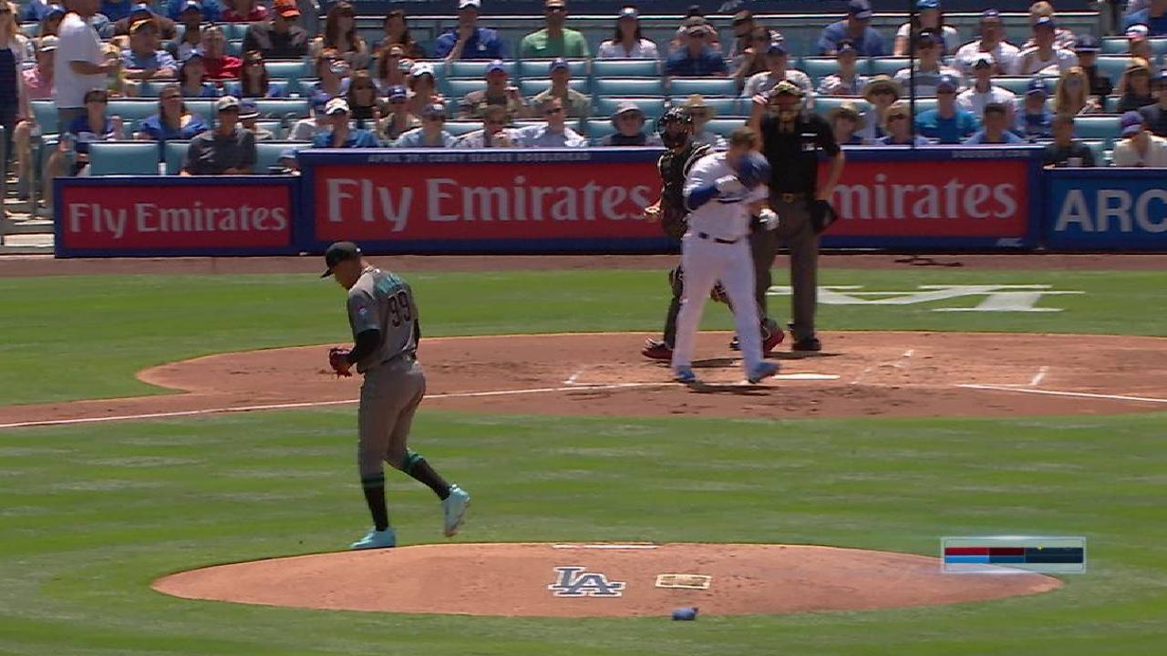 Walker's inning-ending K