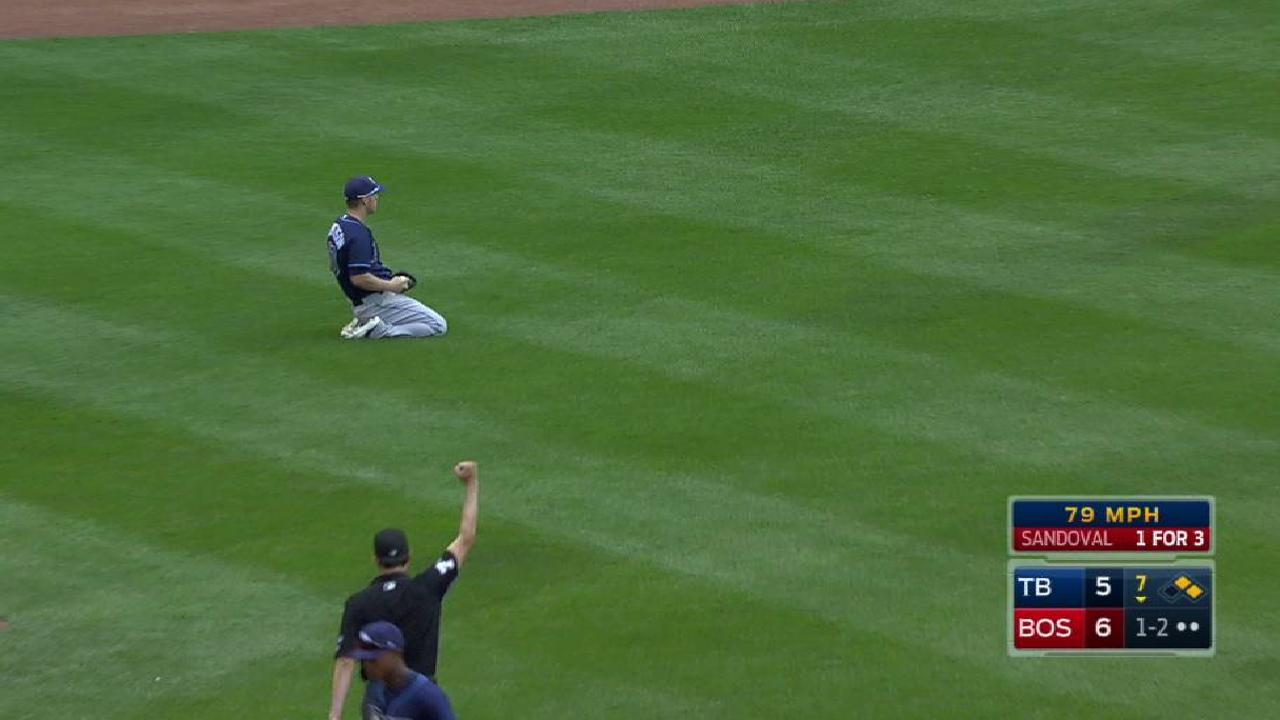 Dickerson's great diving catch