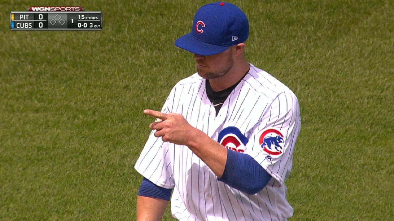Maddon changes Cubs' rotation