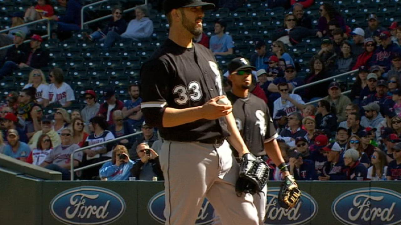 White Sox slowing Shields' rehab process