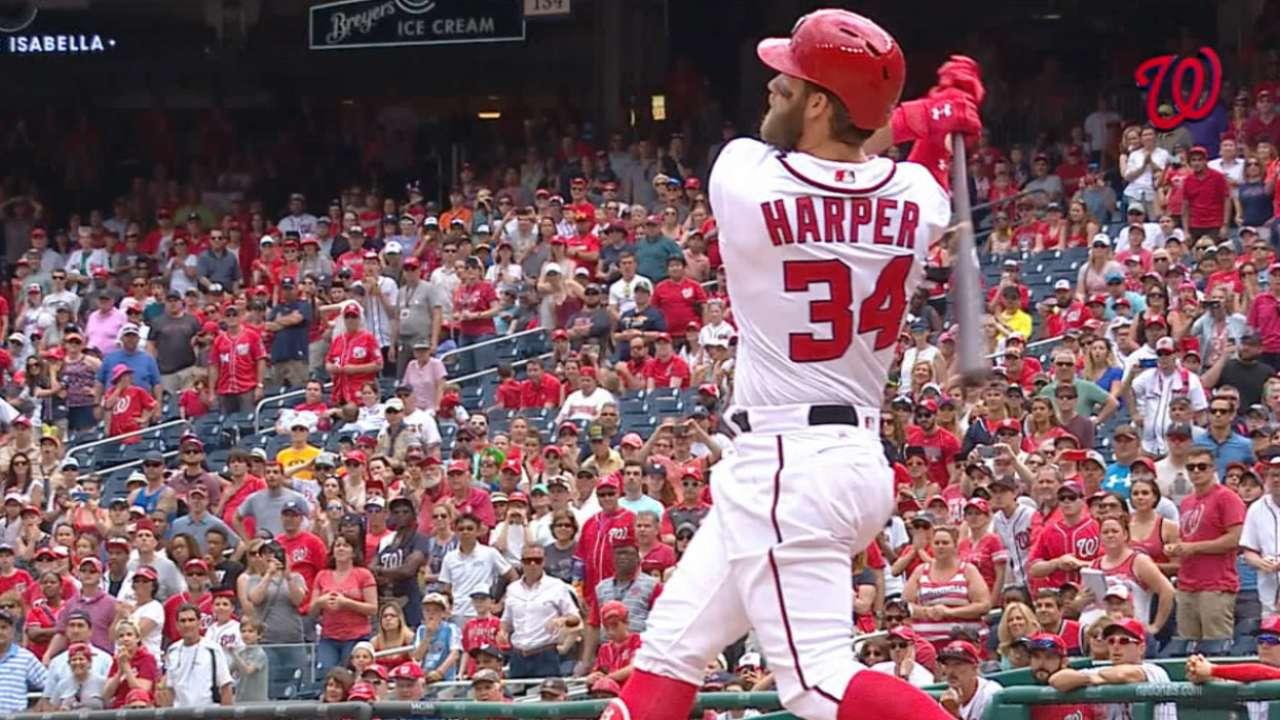 Harper's hot start reminiscent of MVP year
