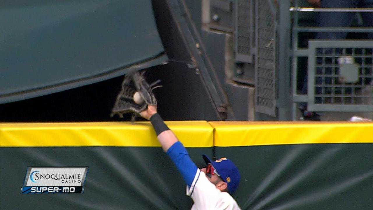 Haniger's amazing catch