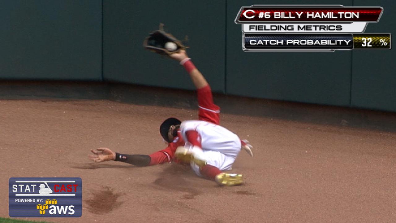 Hamilton hunts down four-star catch