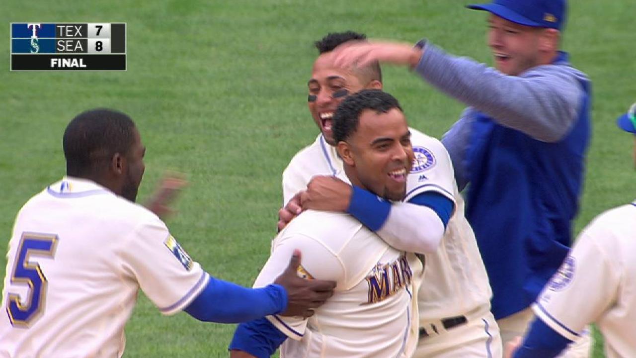 Con hit de oro de Cruz Marineros dejan en el terreno a Rangers