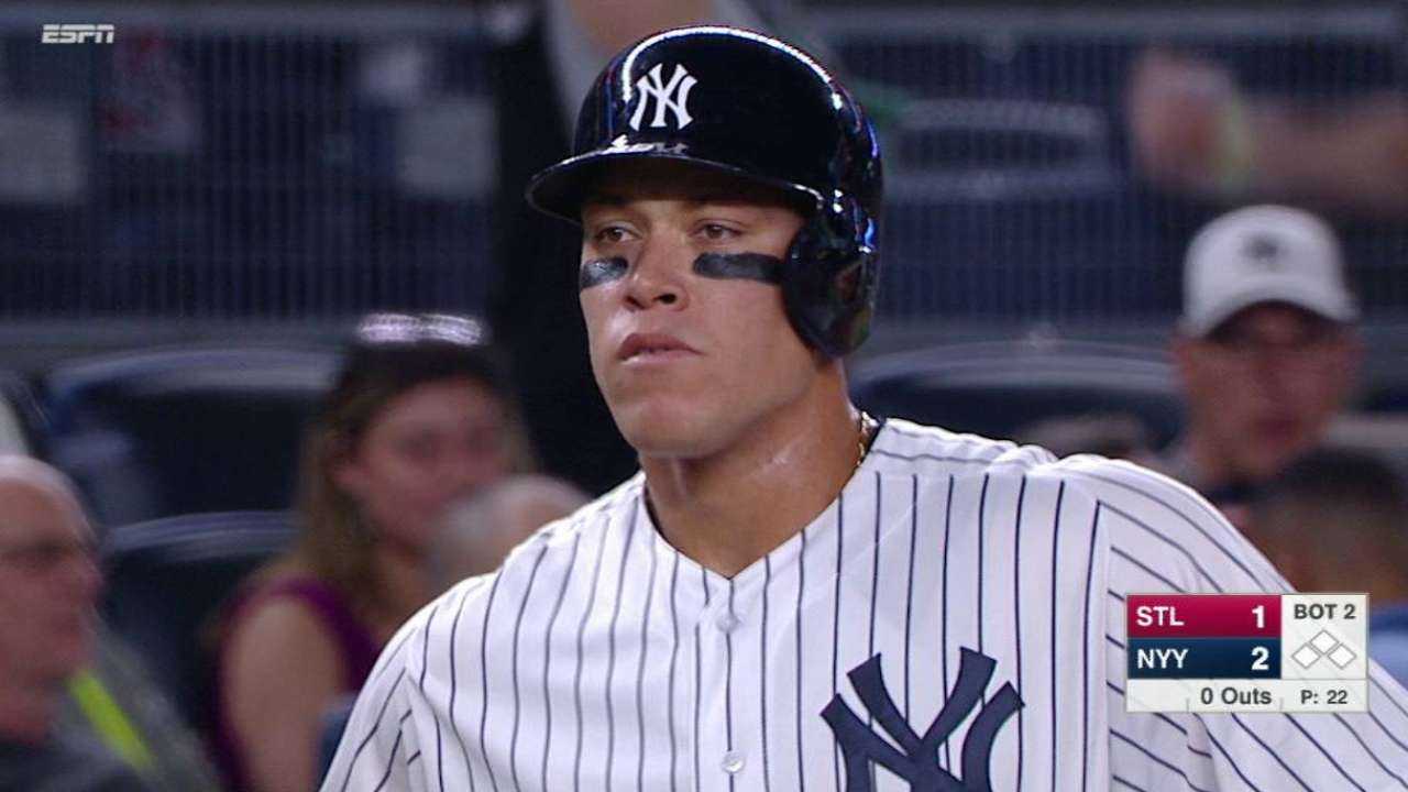Judge's RBI triple stands