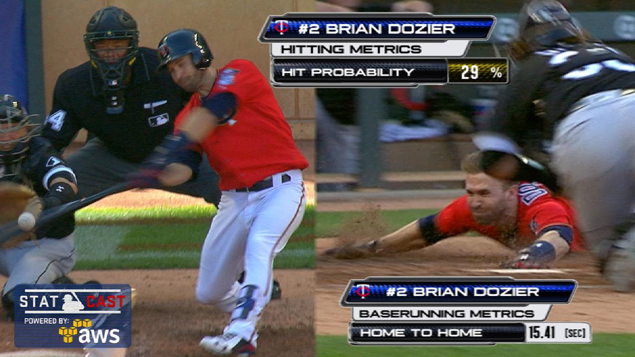 Statcast of the Day: Dozier's inside job