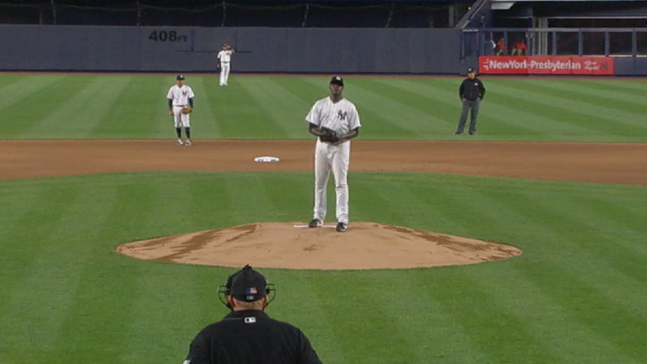 Pineda fans six in seven innings