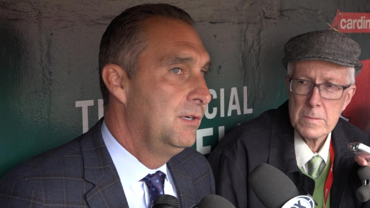 Mozeliak on Cards' slow start