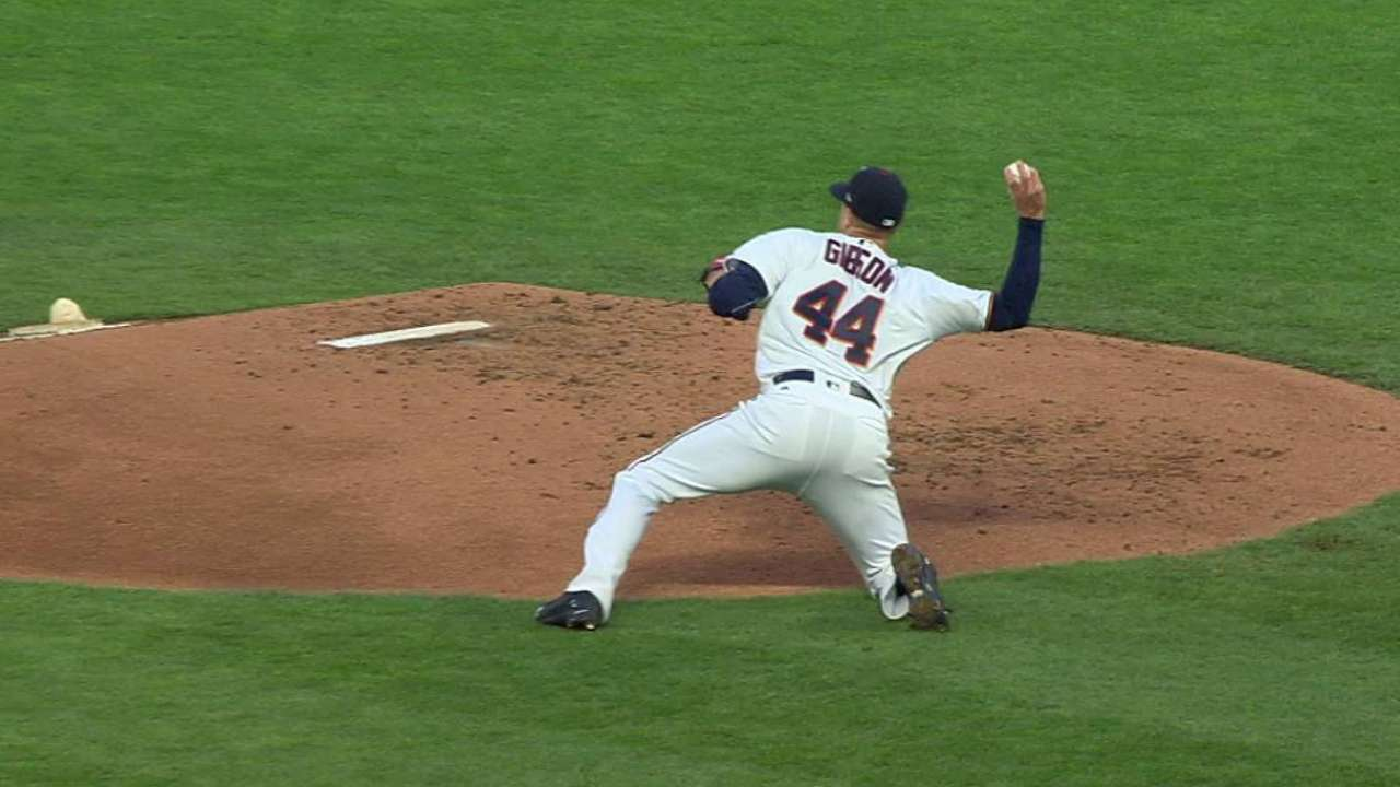 Twins' offense stalls in support of Gibson