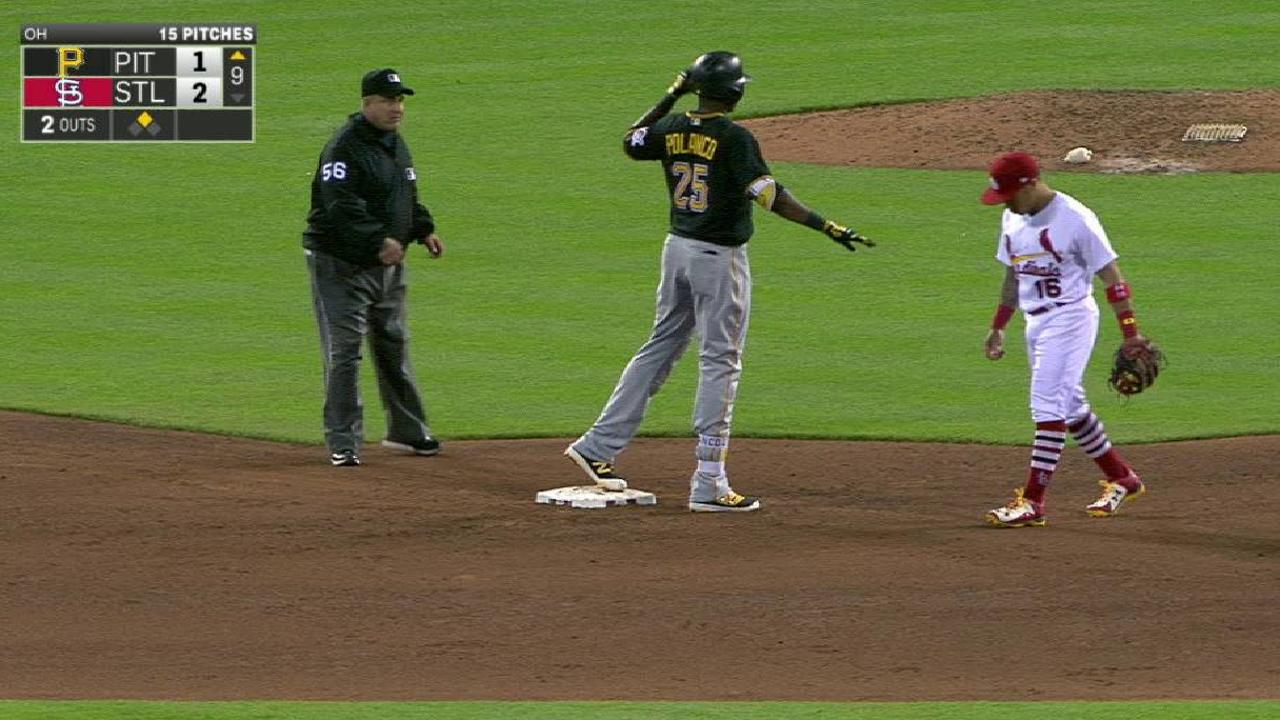 Polanco produces in pinch in return to action