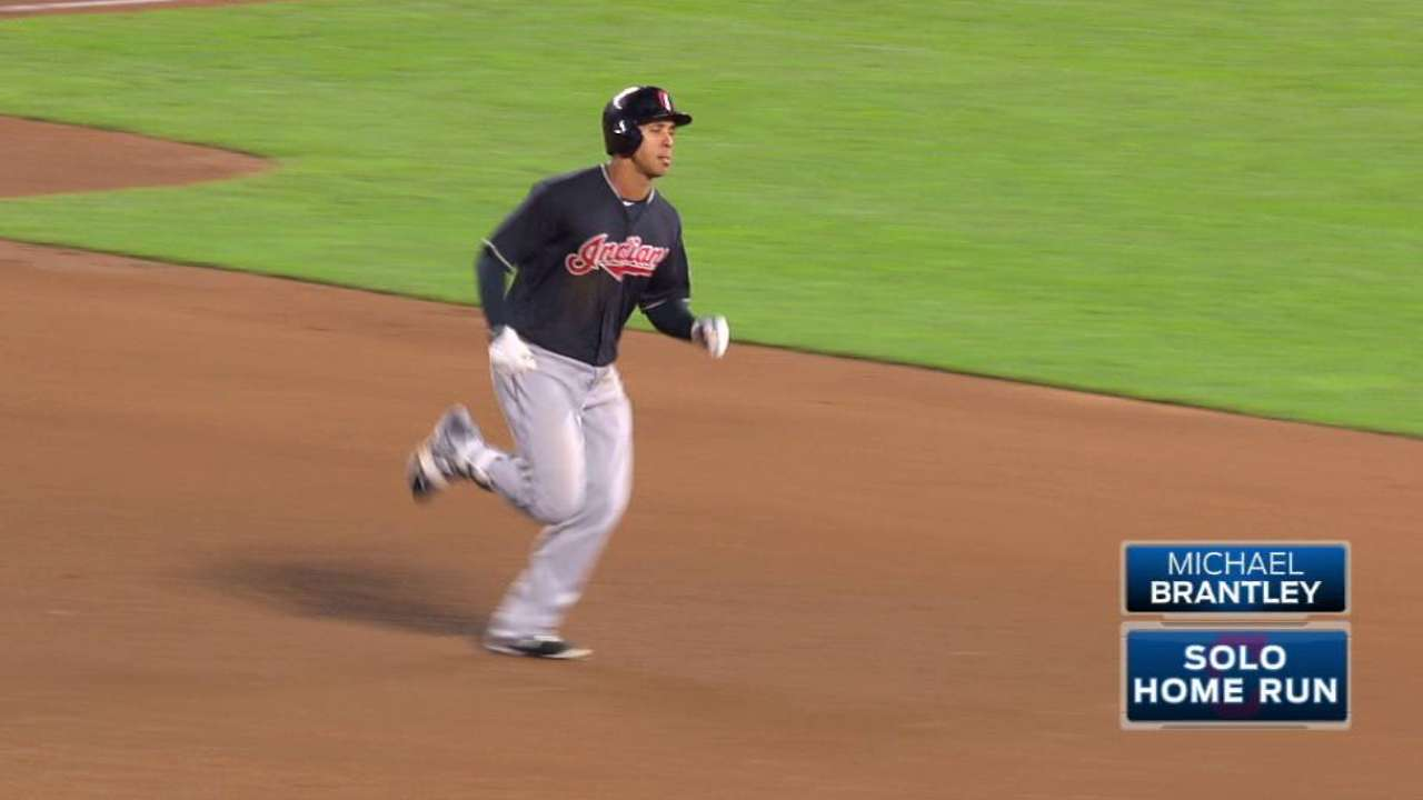 Brantley finding form to fuel Tribe's offense