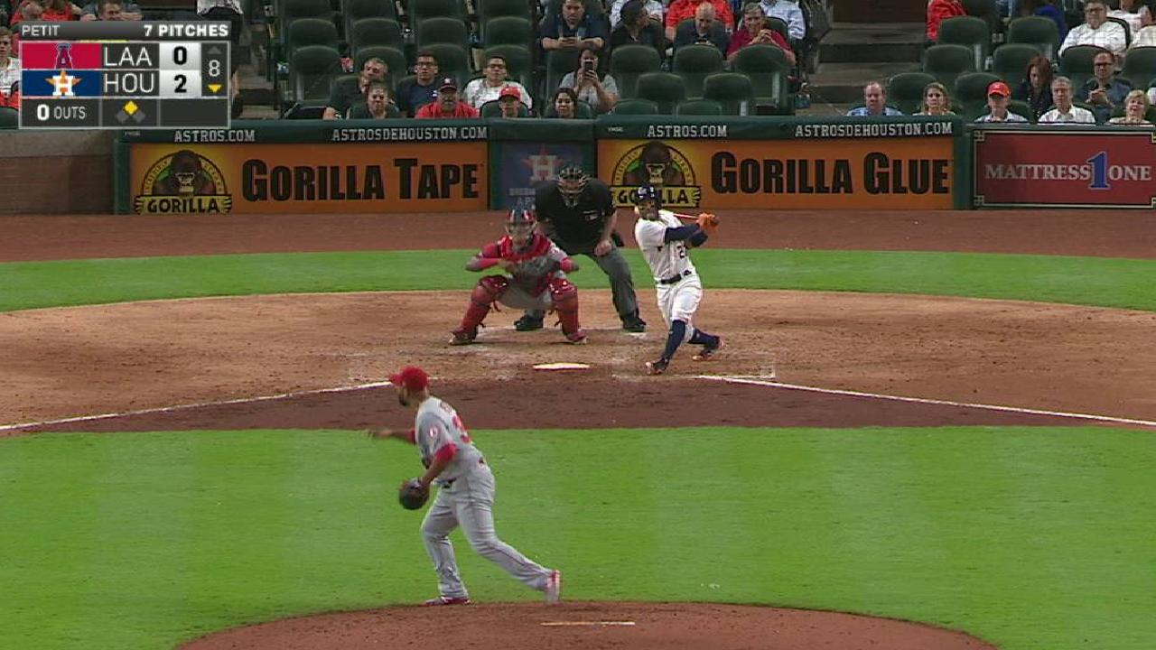 Jose shows way for Astros in 5th straight win