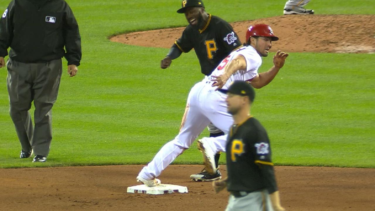 Grichuk sets up insurance run