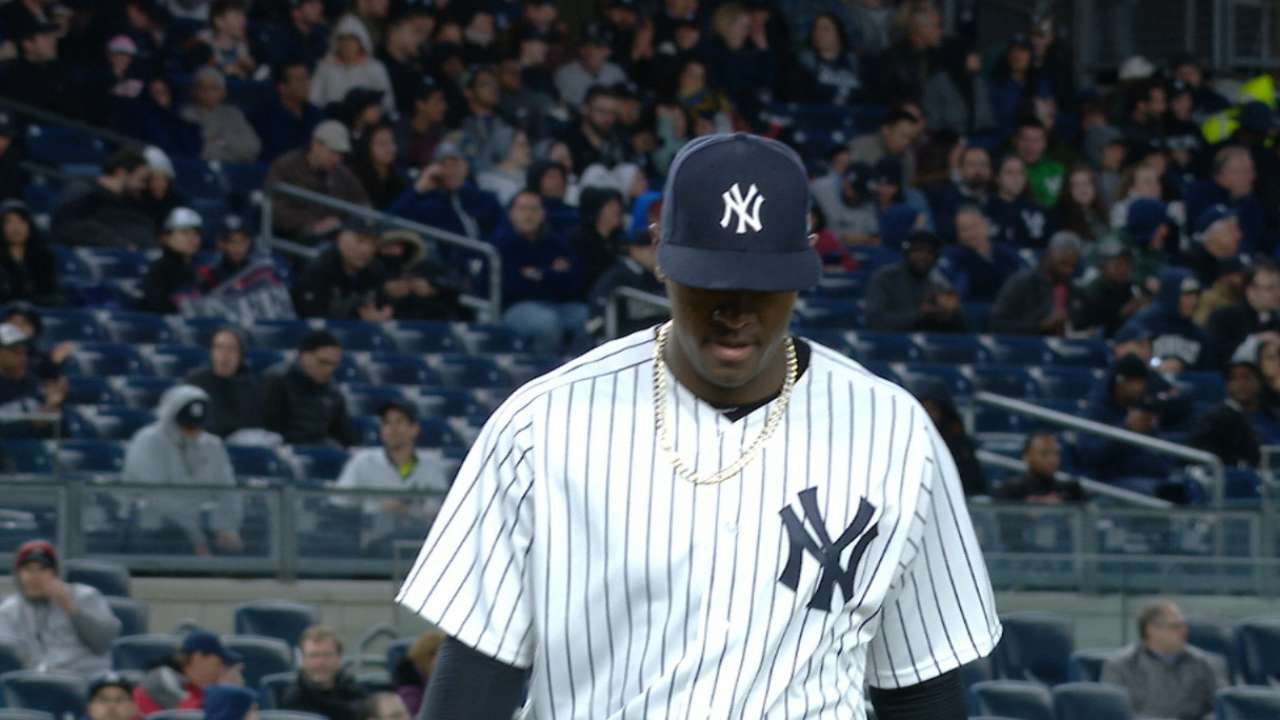Severino, Yanks travel to Fenway for opener