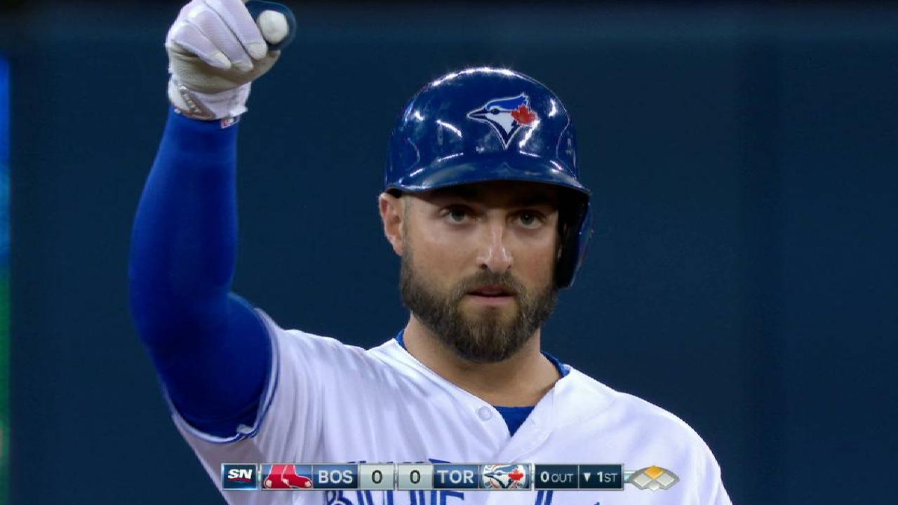 Pillar showing he can handle leadoff spot