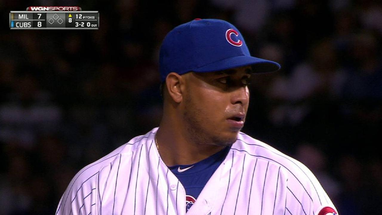 Rondon strikes out Santana