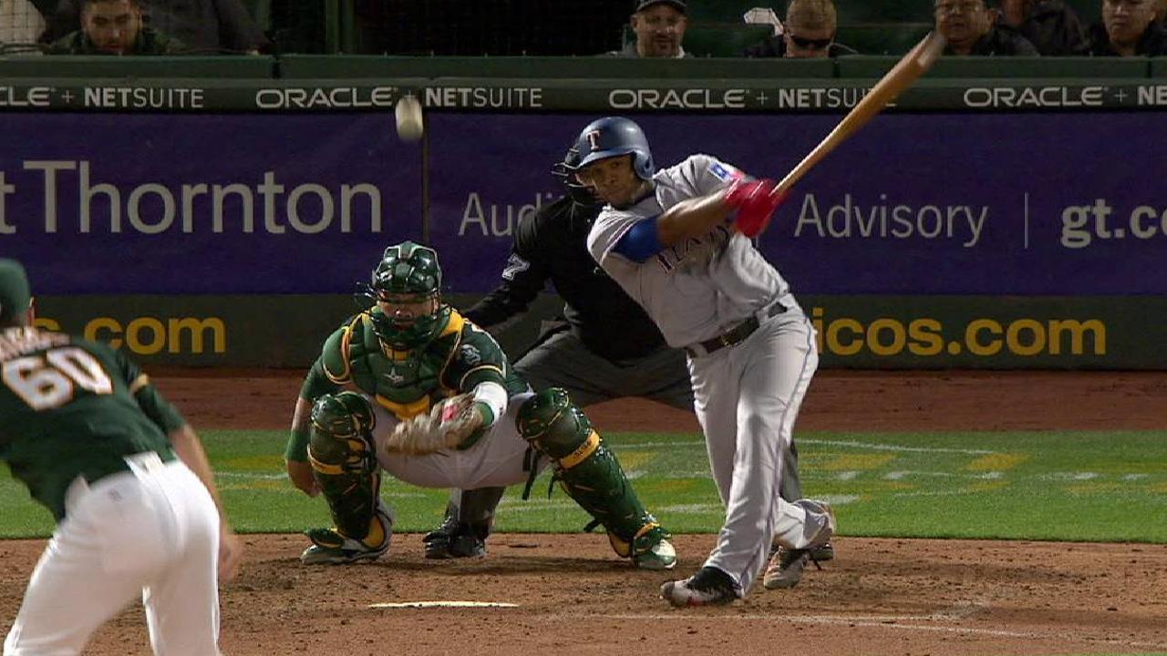Andrus gets crafty, but Darvish falters vs. A's