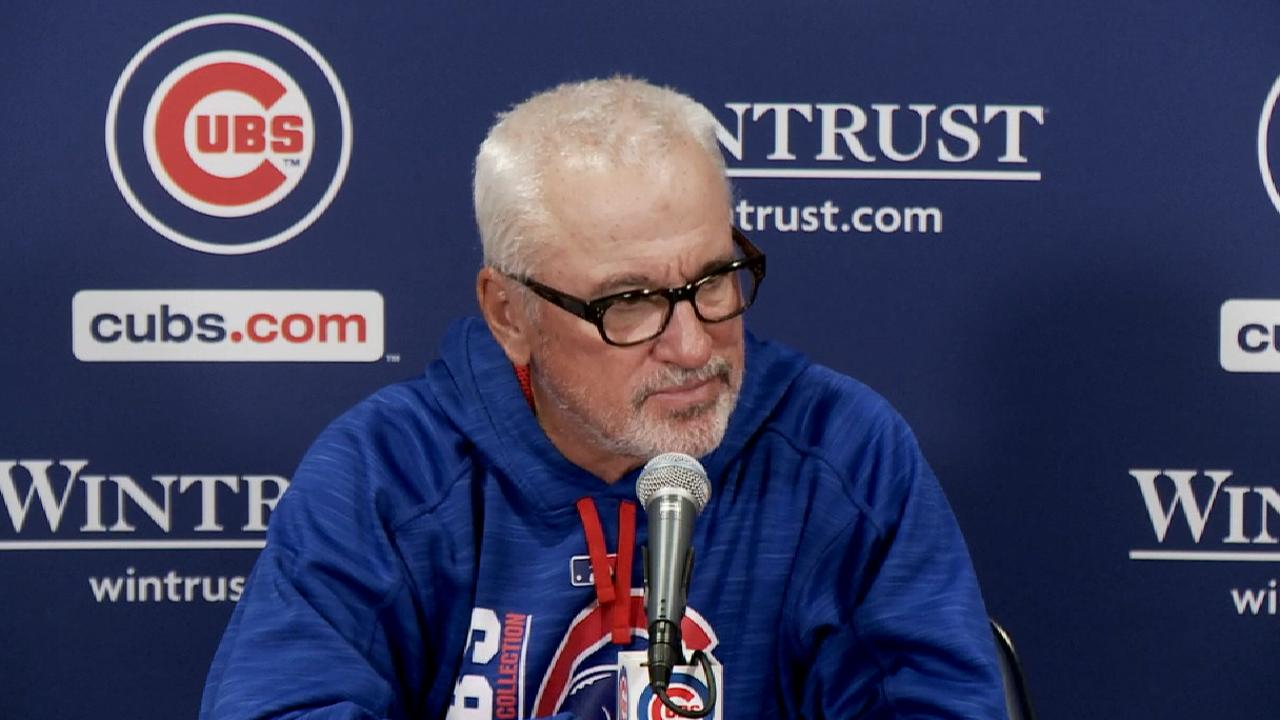 Maddon talks win over Brewers