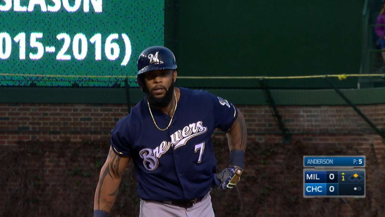 Thames stays hot at the plate