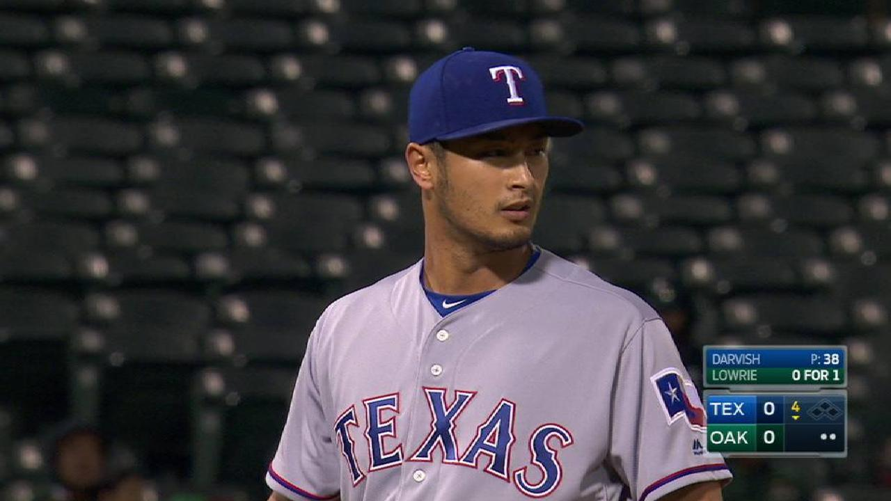 Darvish cruises until ill-fated sixth inning