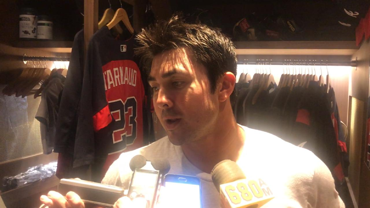 d'Arnaud on odd ending to game