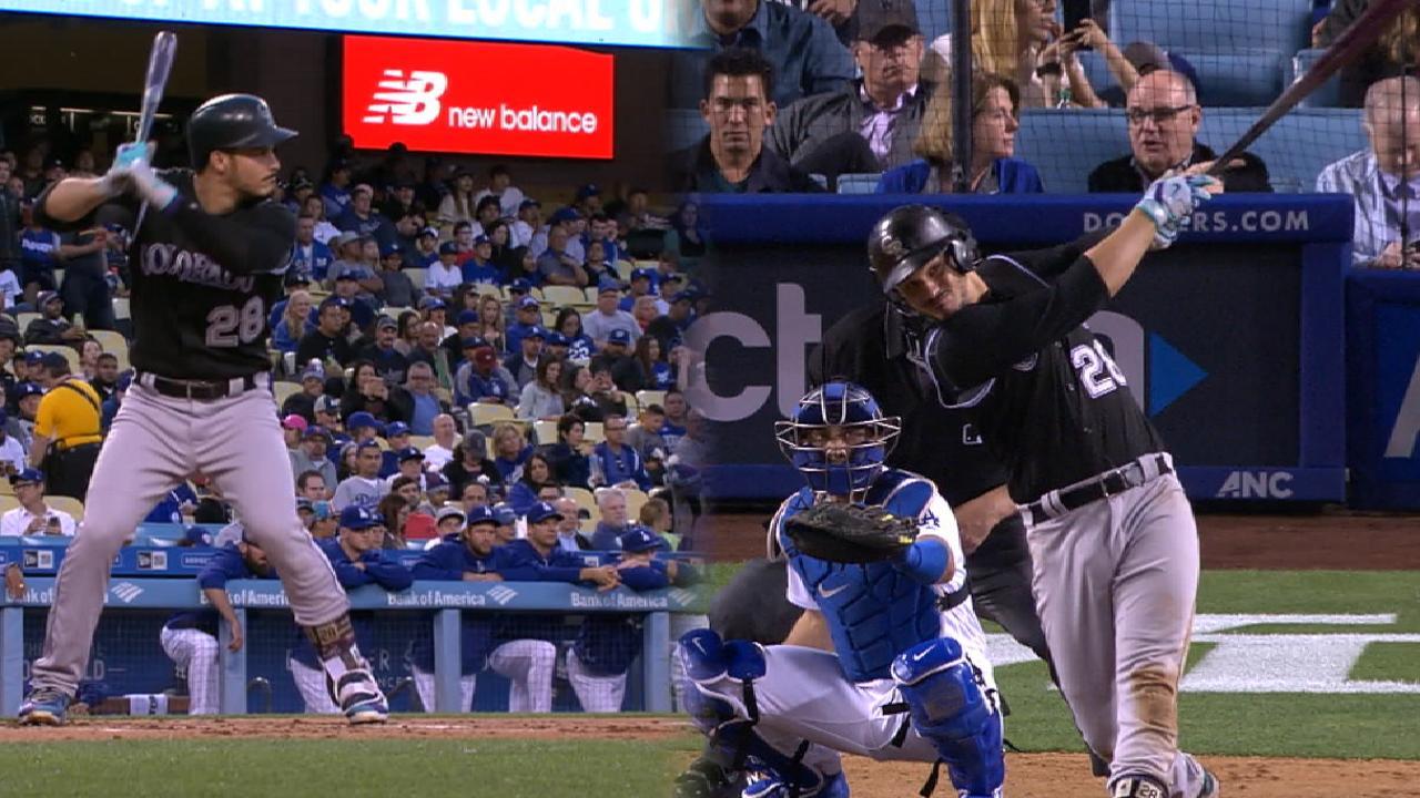 Arenado pegó dos jonrones en victoria de Rockies sobre Dodgers